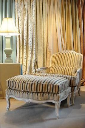 velvet_stripe_chair___ottoman_lbkj